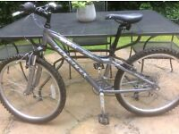 "Ridgeback MX24 24"" children's mountain bike gunmetal grey"