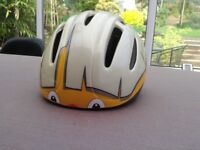 Girl / boy cycle helmet - size 46-52 cm