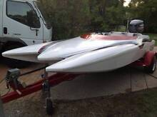 Ski Boat 17ft  2008 140 Yamaha Labirinth Oxenford Gold Coast North Preview