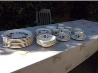 Camargue pattern pottery tableware