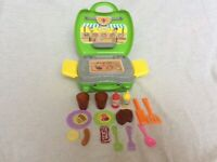 BBQ Cooking Set Kids Toy Pretend Role Play Perfect Gift for little one