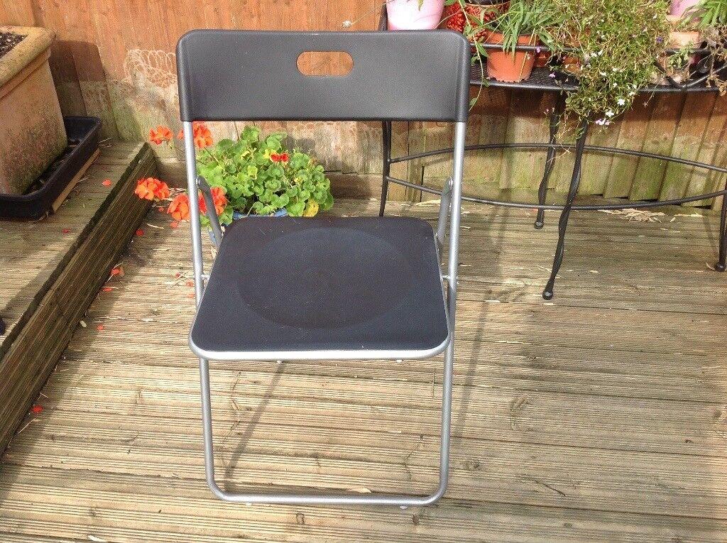 4 John Lewis Folding Chairs