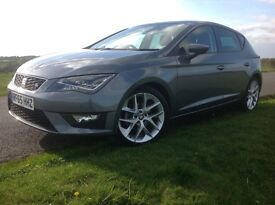 Seat Leon 1.4 EcoTSI FR (Tech Pack) 5dr (start/stop)2015 (65 Reg) - SAT/NAV Price £14,250