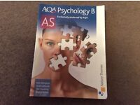 AQA PSychology B, AS level manual. NElson Thomas, used good con