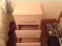 Light Oak Bedside Cabinet