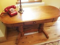 Lovely Oak Hallway Table. (with drawer) bought from Leekes.