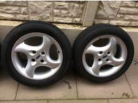 16 inch ST alloy wheels x 4