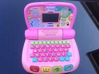 Child's vtech learning laptop