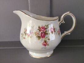 Duchess Bone China Milk Jug. June Bouquet.