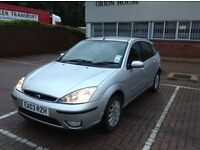 FORD FOCUS GHIA - ( low mileage 40k, Leather interior ) - £895