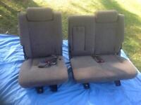 Isuzu Trooper seats