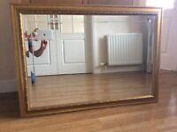 Gold edge mirror