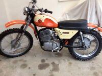 Very rare 1972 250cz Enduro