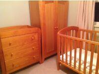 Mamas and Papas Fern Nursery Furniture Set