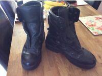 Men's Black RAF Gore-Tex Boots Size 11