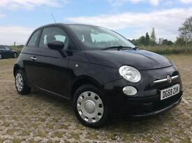 2009 FIAT 500 1.2 POP 3 DOOR, £ 30 ROAD TAX, LONG MOT. RECENTLY FULL SERVICED.