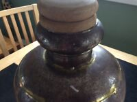 Unusual handmade pot