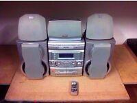 SHARP CD-DP2400 STEREO SYSTEM