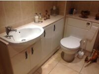 Cloakroom suite for sale