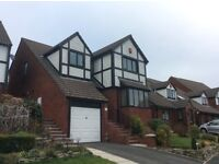 Great 4 bed detached house, lounge, dining room, nice kitchen, utility, en-suite, bathroom, garage.