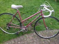 Vintage ladies Coventry Eagle racing bicycle, Reynolds 531/501 frame.