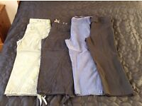 3/4 length trousers, size 10