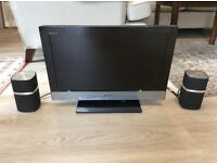 Sony 55cm TV with 2x Bowers & Wilkins Speakers