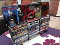 DVD Films X96 Titles Great Mix Of Genres All As New