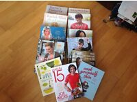 Job lot of really nice cookery books