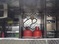 Hot and cold food jiffy van