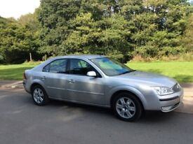 FORD MONDEO 2.0TDCI GHIA. 2005. SERVICE HISTORY. LONG MOT. EXCELLENT ON FUEL. GREAT CONDITION