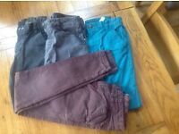 pairs of skinny boys trousers/jeans from Next age 10 years