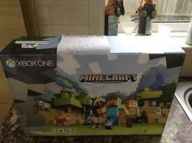 Xbox one s 500gb-Minecraft bundle rrp £220!