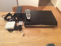 Sky + HD Set Top Box and accessories