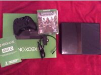 boxed xbox one 500gb with 4 games (gta 5)