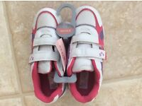 Girls trainers size 2 New with tag