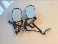 Black towing mirrors - Wick BS 30