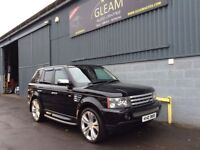 2007 Land-Rover Range Rover Sport 2.7 4X4 Tdv6 HSE STUNNING Condition. FSH. FINANCE AVAILABLE
