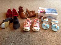 Girls Shoes Bundle Size 10