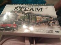 **THE BEST OF BRITISH STEAM TRAINS DVD BOXSETS**