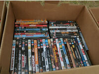 APPROX 200 DVD'S