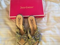 Juicy Couture sandals size 4