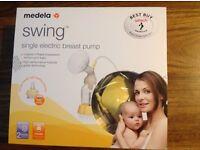 Medela Swing Breast Pump (only used twice, as reserve pump)