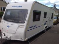 Bailey Ranger 540/6. Six berth. Single axle. 3 fixed bunk beds