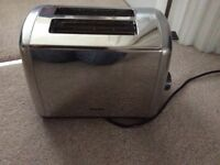 Silver two slice electric toaster excellent condition