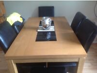 Table and 5 chairs FOR SALE