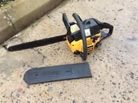 Partner 370 petrol Chainsaw 118 dB. 16 inch bar. Good working order starts first time.