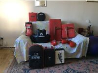 Martial arts equipment used