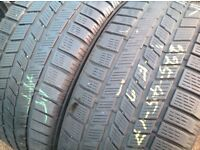 Second hand winter tyres 225/45//17- sets & pairs/ touch stone tyres/ unit 90