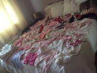 Massive baby girl clothes bundle